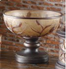 """Autumn's Light"" Footed Bowl Product Image"