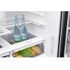 Samsung 23 Cu. Ft. Counter Depth 4-Door French Door Refrigerator With Flexzone Drawer In Black Stainless Steel