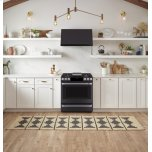 """Cafe 30"""" Slide-In Front Control Gas Oven With Convection Range"""
