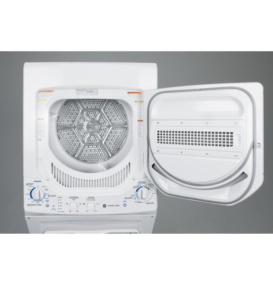 ge spacemaker laundry gtup240emww general electric ge ge unitized spacemaker r 28983