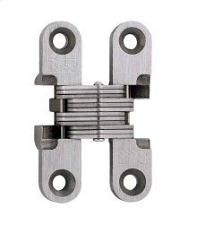 Model 101SS Stainless Steel Invisible Hinge Satin Stainless Steel