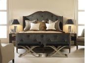Bed With Uph Headboard & Footboard King Size 6/6