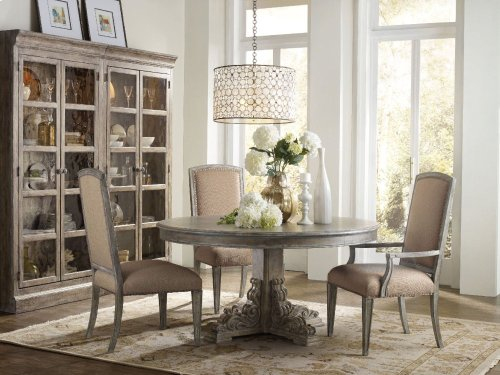 True Vintage Round Dining Table
