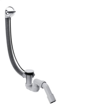 Chrome Complete set waste and overflow set for standard bath tubs Product Image