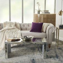 "Life Styles Ss900 Purple 16"" X 16"" Throw Pillows"