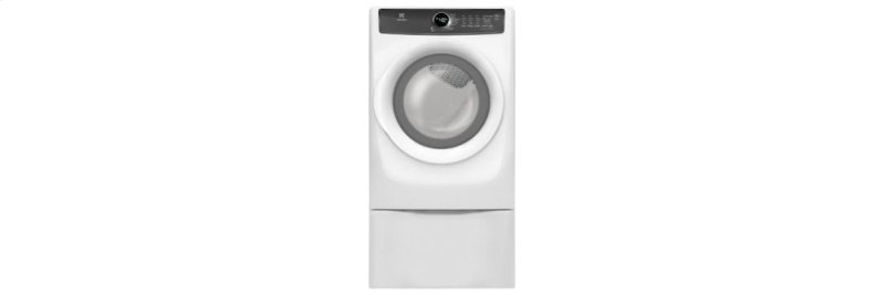 Clearance Electrolux Front Load Perfect Steam Electric Dryer with 7 cycles  - 8 0 Cu  Ft
