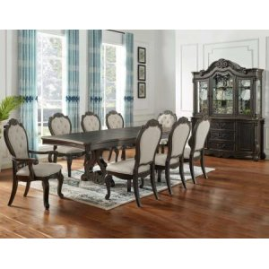 Steve Silver Co.Rhapsody 9 Piece Set(Table, 2 Arm Chairs & 6 Side Chairs)