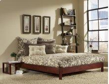 Murray Platform Bed (Mahogany) - QUEEN