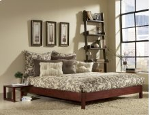 Murray Platform Bed (Mahogany) - QUEEN