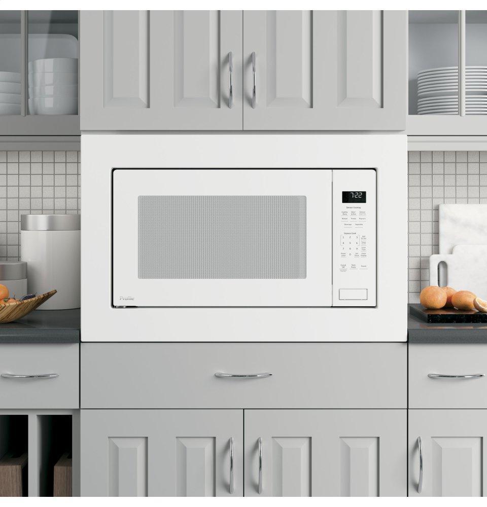 Ge Profile Tm Series 2 Cu Ft Built In Sensor Microwave Oven