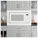 GE ProfileSeries 2.2 Cu. Ft. Built-In Sensor Microwave Oven
