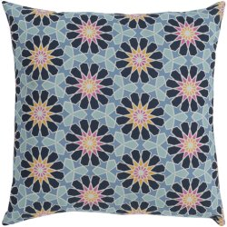 "Francesco FNC-001 22"" x 22"" Pillow Shell with Down Insert"