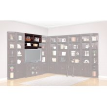 Boston 56 in. Bookcase Bridge, Shelf and Back panel