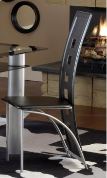 Astro Metal Dinette Chair - Black
