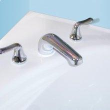 Colony Soft Deck-Mount Bathtub Faucet Trim Kit - Brushed Nickel