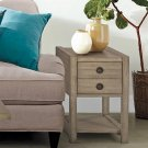 Perspectives - Chairside Table - Sun-drenched Acacia Finish Product Image