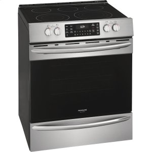 FrigidaireGALLERY Gallery 30'' Front Control Electric Range with Air Fry