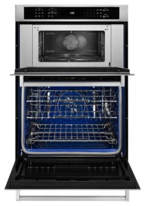 "30"" Combination Wall Oven with Even-Heat™ True Convection (Lower Oven) - Stainless Steel"