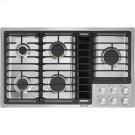 """36"""" JX3™ Gas Downdraft Cooktop, Stainless Steel Product Image"""