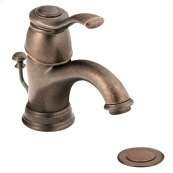Kingsley oil rubbed bronze one-handle bathroom faucet
