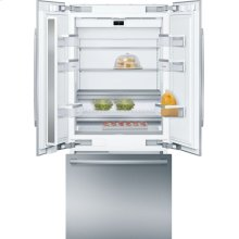 Benchmark® built-in fridge-freezer with freezer at bottom B36BT930NS