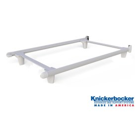 White Twin EmBrace™ Bed Frame