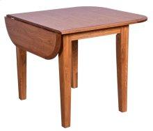 Laminated Drop Leaf Tapered Leg Table