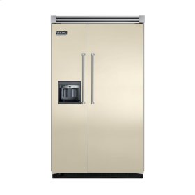 "Biscuit 48"" Side-by-Side Refrigerator/Freezer with Dispenser - VISB (Integrated Installation)"