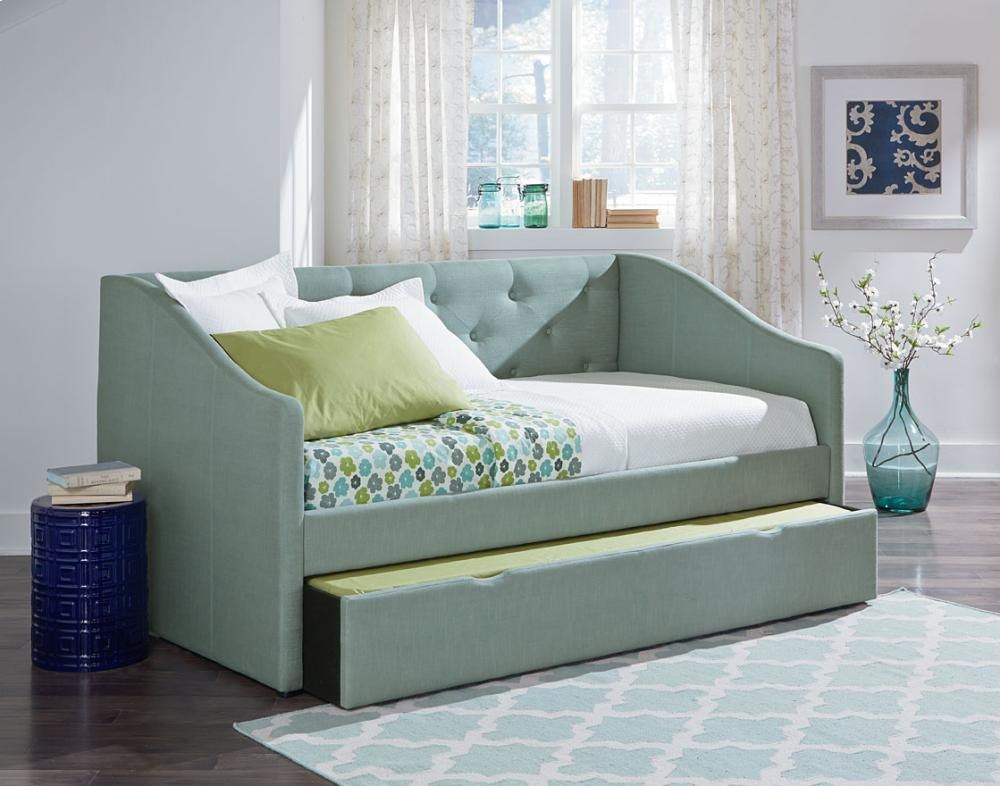 Grey Corner Daybed, Twin
