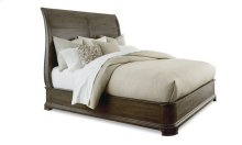 St. Germain California King Platform Sleigh Bed