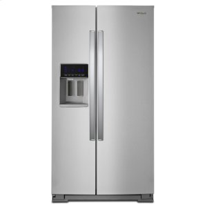 36-inch Wide Side-by-Side Refrigerator - 28 cu. ft. - FINGERPRINT RESISTANT STAINLESS STEEL