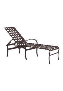 Palladian Strap Chaise Lounge