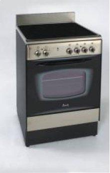 "Model DER241BS - 24"" Deluxe Electric Range - Stainless Steel"