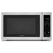 KitchenAid® 1200-Watt Countertop Microwave Oven - Black-on-Stainless