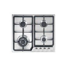 "Stainless Steel 24"" Gas 4 - Burner Deluxe Front Control"