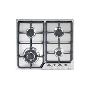 "VeronaStainless Steel 24"" Gas 4 - Burner Deluxe Front Control"