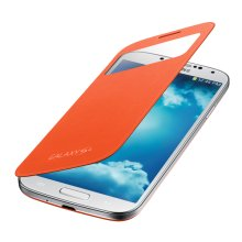 Galaxy S 4 S-View Flip Cover, Orange