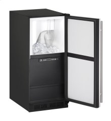 "1000 Series 15"" Clear Ice Machine With White Solid Finish and Field Reversible Door Swing (115 Volts / 60 Hz)"