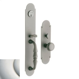 Polished Nickel with Lifetime Finish Lancaster Entrance Trim