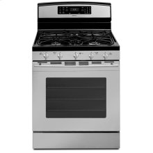 """30"""" Self-Cleaning Freestanding Gas Range with Convection"""