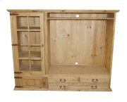 TV Bookcase 3 Drawer 2 Doors Product Image
