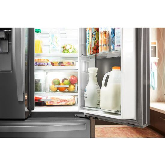 Genial Whirlpool® 36 Inch Wide French Door Within Door Refrigerator With Cold Space