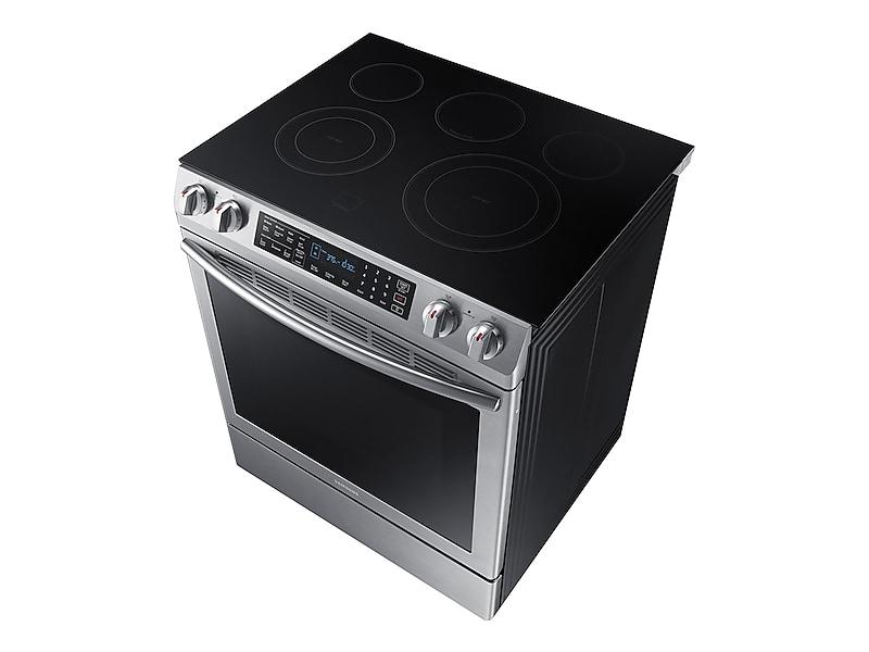 NE58K9430SS Samsung Appliances 5 8 cu  ft  Slide-In Electric