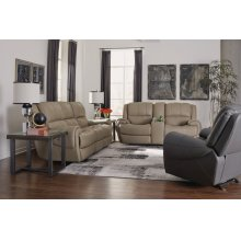 Nance Leather Power Reclining with Power Headrests