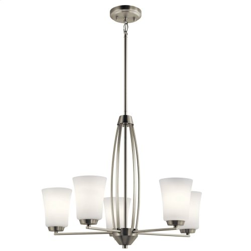 Tao Collection Tao 5 Light Chandelier NI