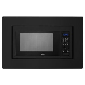 30 in. Microwave Trim Kit - Black - BLACK