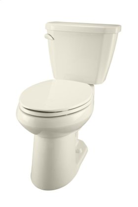 "Biscuit Viper® 1.28 Gpf 12"" Rough-in Two-piece Elongated Ergoheight Toilet"