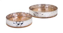 TY Persimmon Trays - Set of 2