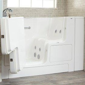 Gelcoat Value Series 32x52 Walk-in Whirlpool Tub  American Standard - Linen
