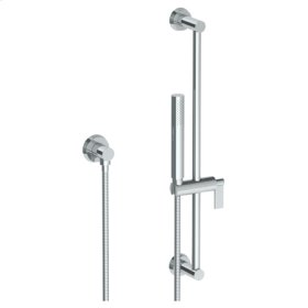 """Positioning Bar Shower Kit With Slim Hand Shower and 69"""" Hose"""